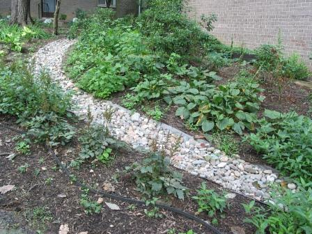 Stop Drainage and Erosion Problems with Gravel